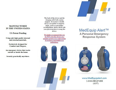 MedEquip Alert Personal Emergency Repsonse & Medical Alert Button Brochure